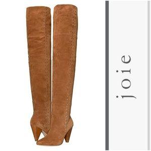 Stunning Joie Studded Suede OTK Boots